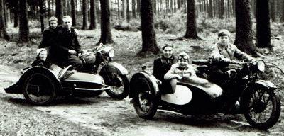 historische Motorraeder